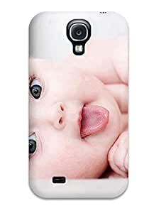 Awesome Design Cute Naughty Baby Lying Pose Hard Case Cover For Galaxy S4