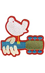 Woodstock Music Festival - Dove Rocking Guitar Patch