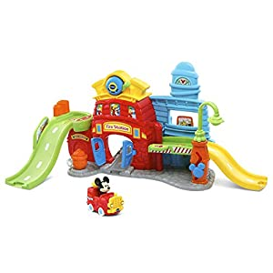 VTech Go! Go! Smart Wheels – Disney Mickey Mouse Silly Slides Fire Station