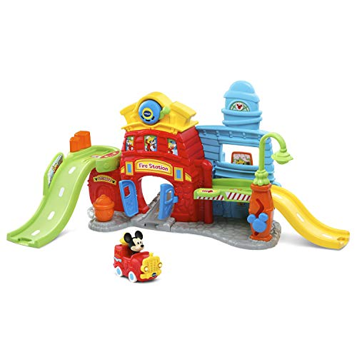 VTech Go! Go! Smart Wheels Mickey Mouse Silly Slides Fire Station