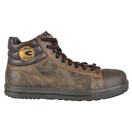 Cofra 35031-004.W41 Stoppata S3 SRC Chaussures de sécurité Taille 41 Marron