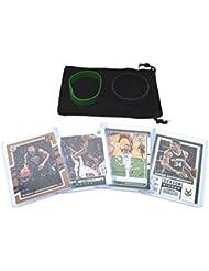 Giannis Antetokounmpo Basketball Cards Assorted (4) Gift Bundle - Milwaukee Bucks Trading Cards