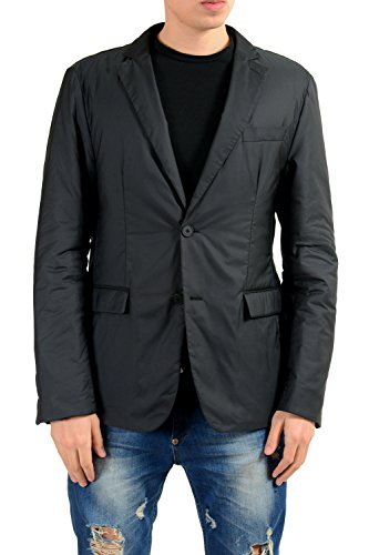 Hugo Boss Nellon Black Men's Two Button Blazer US 38R IT ()