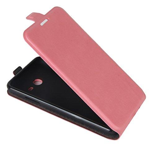 Funda Samsung Galaxy J3(2017),Manyip Caja del teléfono del cuero,Protector de Pantalla de Slim Case Estilo Billetera con Ranuras para Tarjetas, Soporte Plegable, Cierre Magnético E