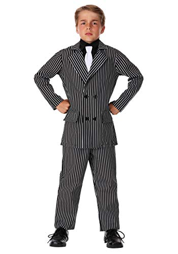 Kids Deluxe Gangster Costume Large