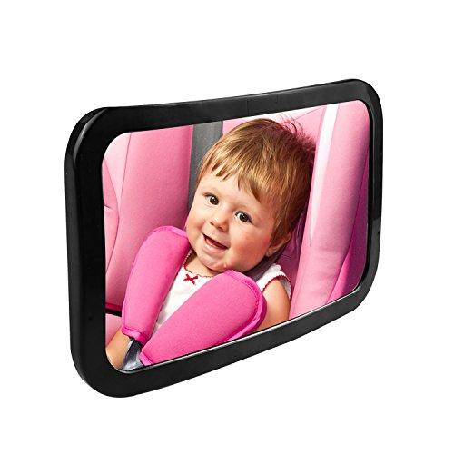 Baby Car Mirror, Aodis Premium Back Seat Mirror View Infant/