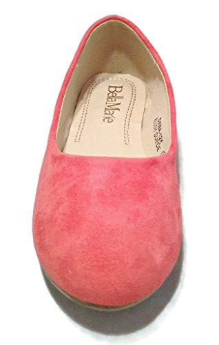 Girl Synthetic Kids On Shoes Bellamarie Ballet Ballerina Flat Blush Comfortable Dress Slip Suede RCxqF