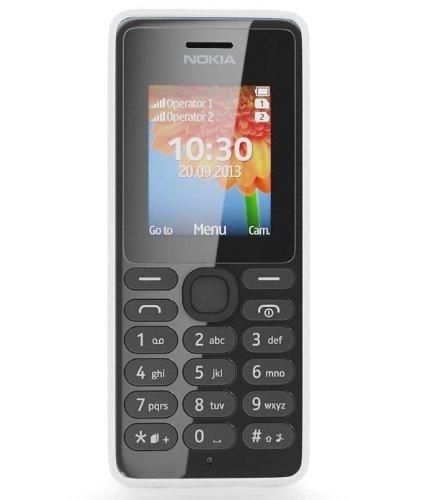 322 opinioni per Nokia 108 Telefono Cellulare, Dual SIM, Bianco [Italia]