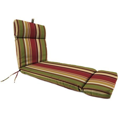 Jordan Manufacturing Outdoor Replacement Chaise Lounge Cushion, Westport Henna Stripe (Cushions Jordan Replacement)