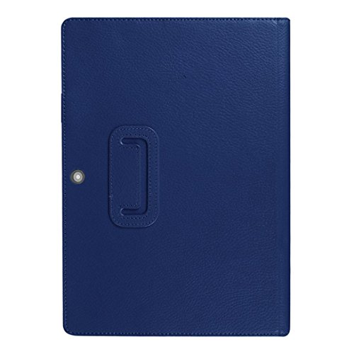 Veepola New Smart Sleep Folding Leather Stand Case Cover for Lenovo Miix 320 Tablet (Blue)