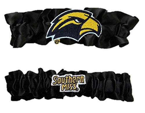 Divine Creations Southern Miss Satin Garter Set One to Keep,One to Throw -