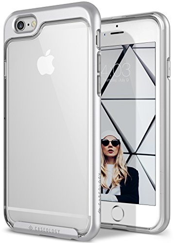 Caseology Skyfall for Apple iPhone 6S Case (2015) / for iPhone 6 Case (2014) - Silver