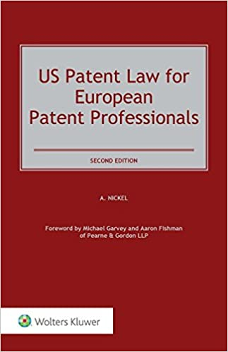 US Patent Law for European Patent Professionals
