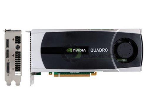HP WS097AT Quadro 6000 6GB GDDR5 PCIE Video Card for Workstation z600/z800 SLI DisplayPort/DVI