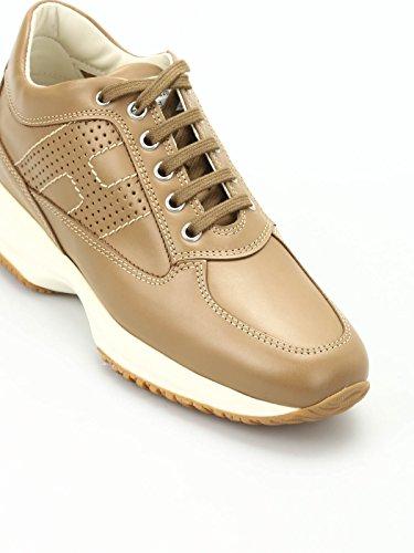 Hogan Sneaker Interactive in Pelle Marrone HXW00N00E30D0W