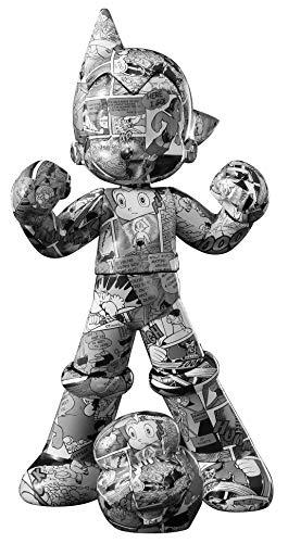Tokyo Toys Tezuka Osamu's Astro Boy (Mighty Atom Comic Edition) and Hytitansugi Diecast Figurine 16.5cm tall Official Japan Licence ()