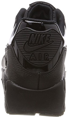 Black 90 Nike Black Leather Max Damen WMNS Schwarz Black 002 Gymnastikschuhe Air rIxFzIUwq