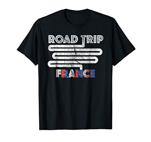 Travel France Europe Tee Family Friends Vacation | Paris by Road Trip EU States T Shirts & Gifts