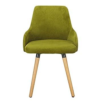 Homebeez Fabric Mid-Century Modern Accent Leisure Chair Single Green