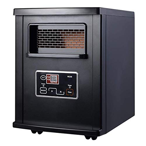 Giantex Portable Electric Space Heater Infrared Quartz