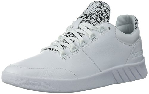 K-Swiss Men's Aero Trainer Sneaker, White/Black, 10 M - Aero Men
