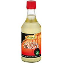 Roland Seasoned Rice Wine Vinegar, 20 oz