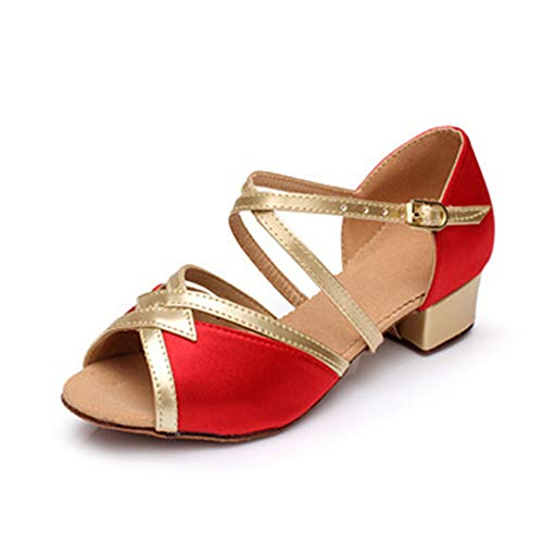4e626275fc44 Women Professional Latin Dance Shoes Satin Salsa Ballroom for sale  Delivered anywhere in USA