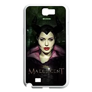 Fashion Style for Samsung Galaxy Note 2 Cell Phone Case White maleficent YIP4874445