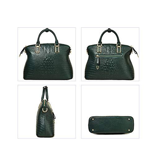 Z_L Frauen Krokodiltasche Leder Frauen Handtasche Tote Frauen Tasche Taschen Luxus Handbag
