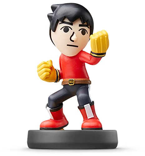 Nintendo Mii Brawler Amiibo (Super Smash Bros. Series) For Wii U