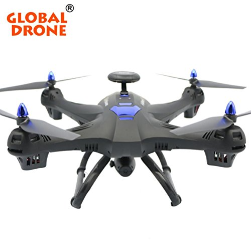 Fineser Global Drone X183 With 5GHz WiFi FPV 1080P Camera GPS Brushless Quadcopter with Headless Mode, Altitude Hode, App Control for Kids & Drone Beginners (Black)