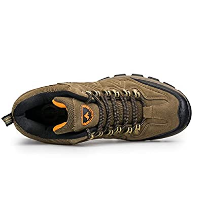 Amazon.com | 3C Camel Men's Outdoor Walking Travel Casual Comfortable Suede Lightweight Breathable Hiking Boots Shoes | Hiking Shoes