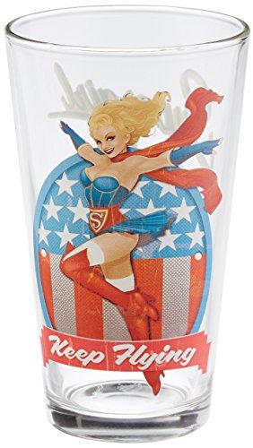 Supergirl DC Bombshell Series 'Toon Tumbler 16 Oz. Pint ()