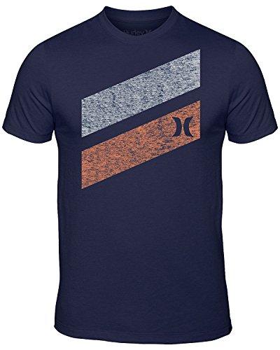 Hurley Men's Icon Slash PT Premium Short Sleeve T-Shirt, Midnight Navy, Medium