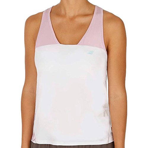 Babolat Performance Girls Kids Racerback Sleeveless Tank Top Vest - 12to14Y