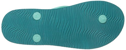 Fille Chakras Little Prints Reef Vert Mint Flip Flop wPpqBfav