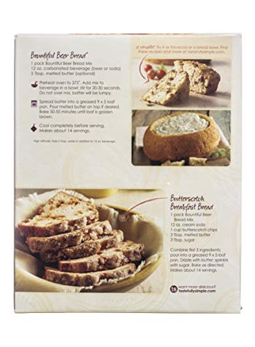 Tastefully Simple Bountiful Beer Bread Mix Value Pack by Tastefully Simple (Image #1)