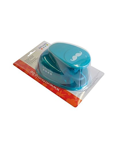 Artemio Punch Mustache, Plastic, Blue, 14x 9x 23cm ()