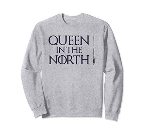Queen In The North T-Shirt Cool Easy Halloween Costume Tee  Sweatshirt -