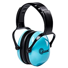 EZARC Kids Safety Ear Muffs 30dB for Children Hearing Protection - Noise Reduction Light Weight Earmuffs for 2-15 Years Old Kids , Blue