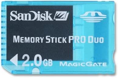 SanDisk SDMSG-002G-B46 Tarjeta de memoria Memory Stick Pro Duo de 2 GB azul