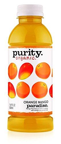 Purity Organic Juice Drink, Orange Mango Paradise, 16.9 Ounce (Pack of 12) ()