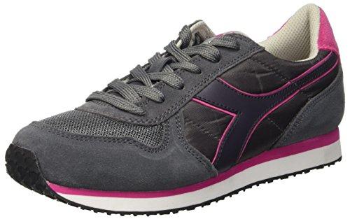 Diadora run Basses grigio Sneaker Gris Acciaio Femme W K Grigio rgrxI5R