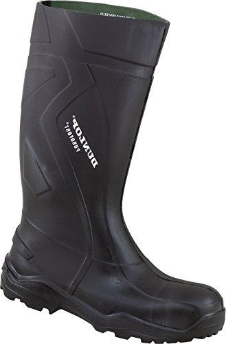 Dunlop - Calzado de protección de Poliéster para hombre Negro negro negro
