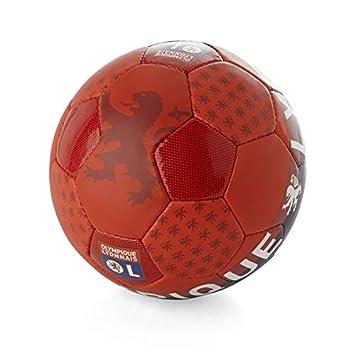Ol boutique Lyon balón Supporter T5 - Balón Fútbol Ocio - Rojo ...