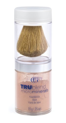 CoverGirl TruBlend Microminerals Foundation, Toasted Almond 470 0.35 - Shaped Almond Face