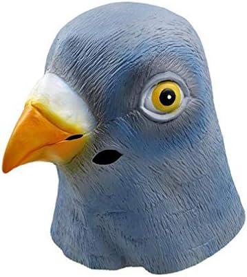 Olive-G アニマル マスク 鳩 ハト 被り物 リアル お面 仮装 鳩人間 動物マスク おもしろ パーティ