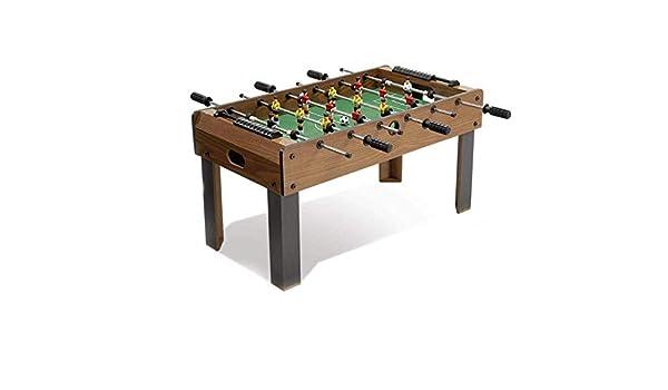 LMCLJJ Futbolín Table Soccer Game Table Competición Tamaño Fútbol ...