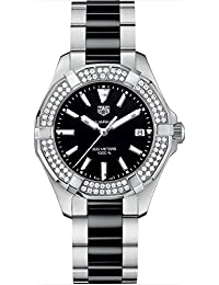 Tag Heuer Aquaracer Quartz Ladies Diamonds 35mm Ladies Watch WAY131E.BA0913