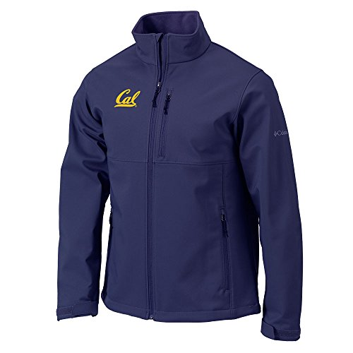 Cal Mens Jackets (UC Berkeley Columbia Cal embroidered Ascender Jacket-Navy)